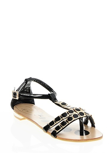 Rosee Sandalet Siyah